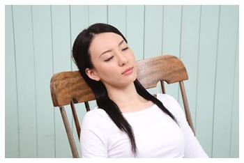 このような時、一日横になって休んで下さい。